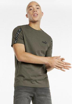 Print T-shirt - grape leaf