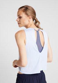 adidas Performance - TANK COOLER - Camiseta de deporte - blue - 2