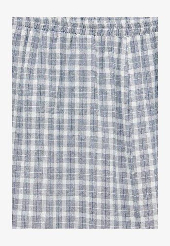 MIT KAROMUSTER - Trousers - light grey