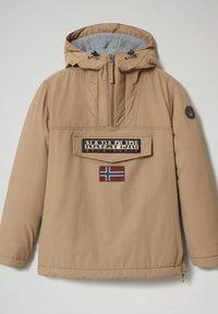 Napapijri - RAINFOREST WINTER - Light jacket - beige portabel - 1