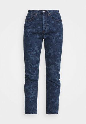 501® CROP - Straight leg jeans - blue denim