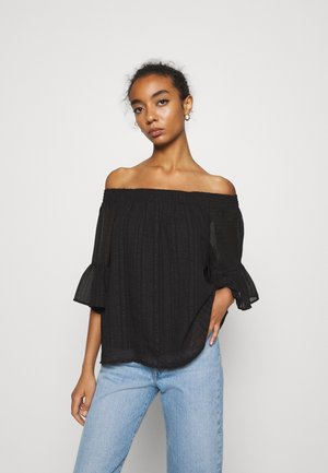 ONLOLIVIA OFF SHOULDER - Blouse - black