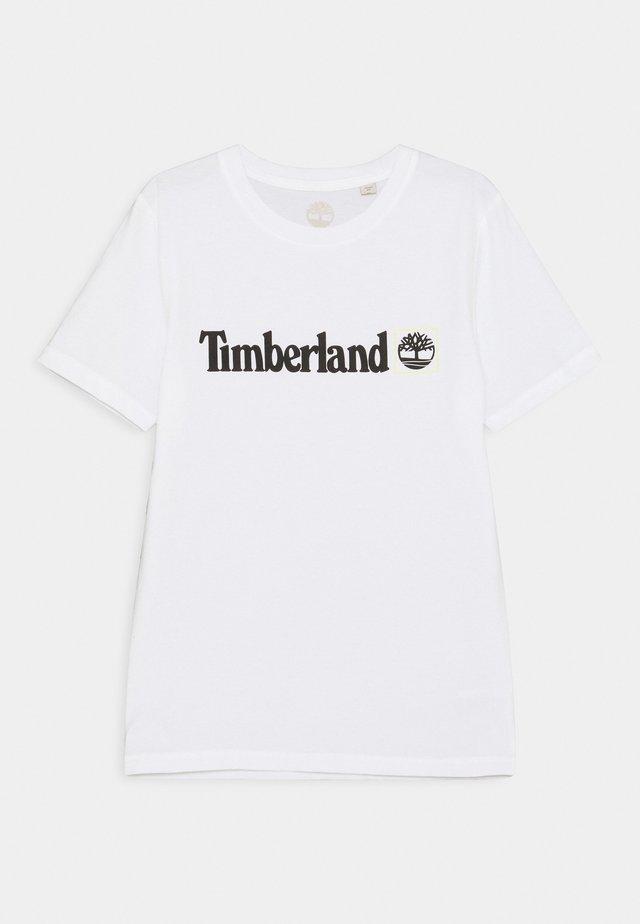 SHORT SLEEVES TEE - T-shirt imprimé - white