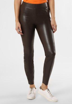 Leggings - Trousers - schoko