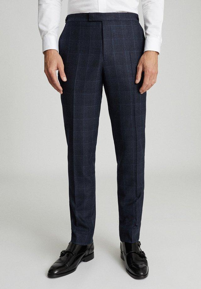 ELTHAM - Pantalon - blue