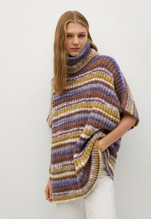 BOHO - Strickpullover - paars