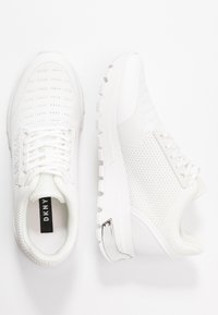 DKNY - MELZ LACE UP  - Trainers - white - 3