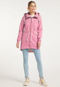 Schmuddelwedda - Zip-up hoodie - sorbetrot melange - 1