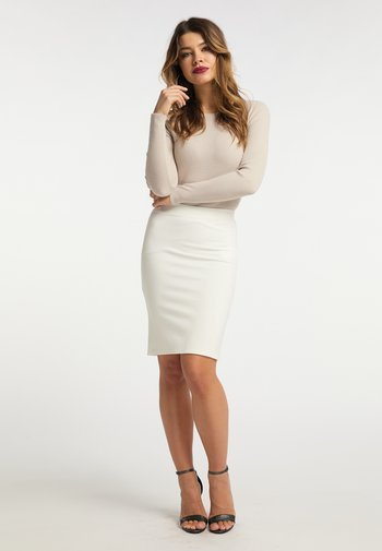 Pencil skirt - weiss