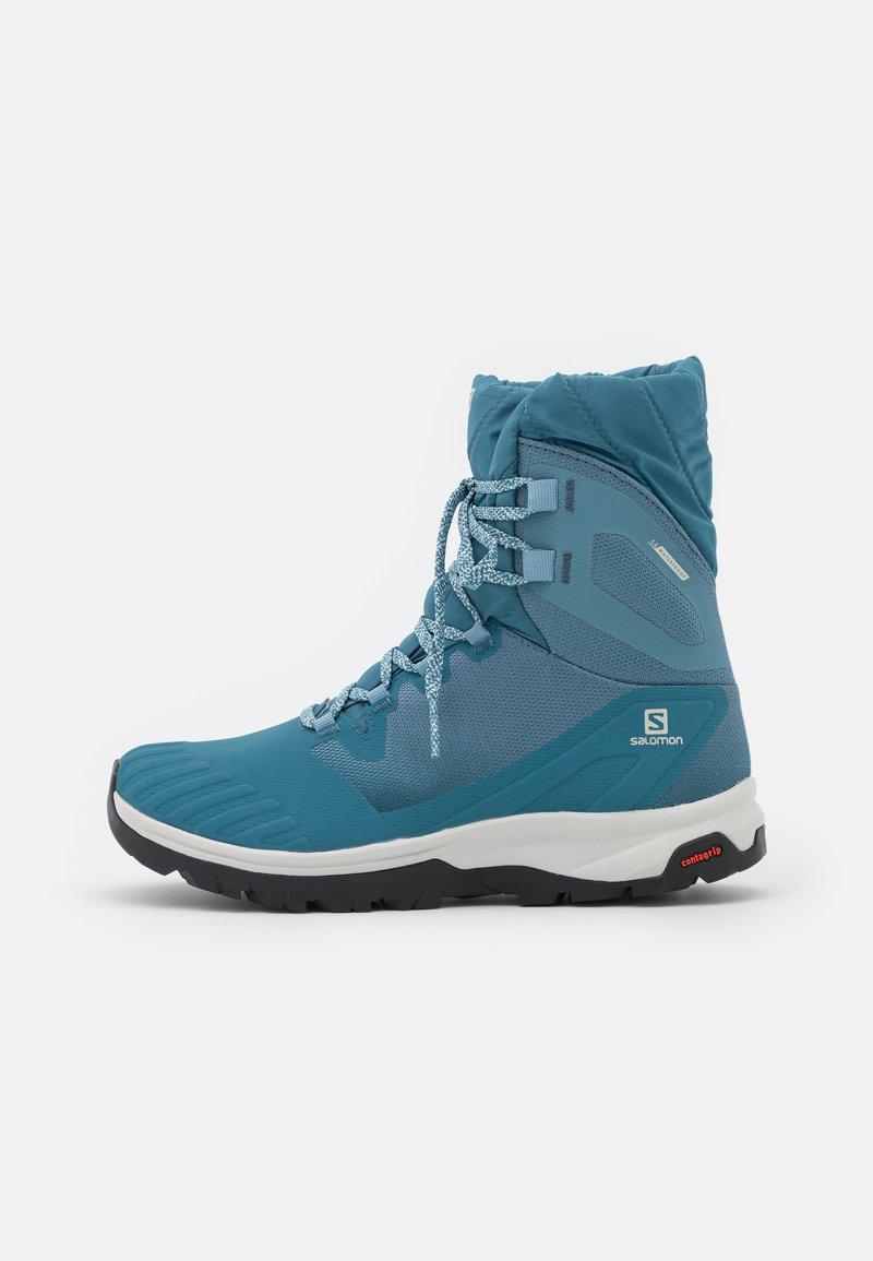 Salomon - VAYA POWDER CSWP - Winter boots - bluestone/mallard blue/black