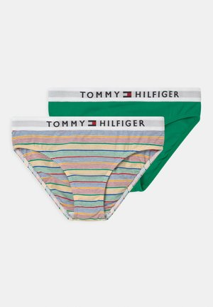 STRIPES 2 PACK - Slip - primary green