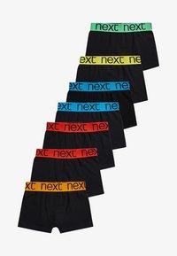 Next - 7 PACK - Pants - black - 0