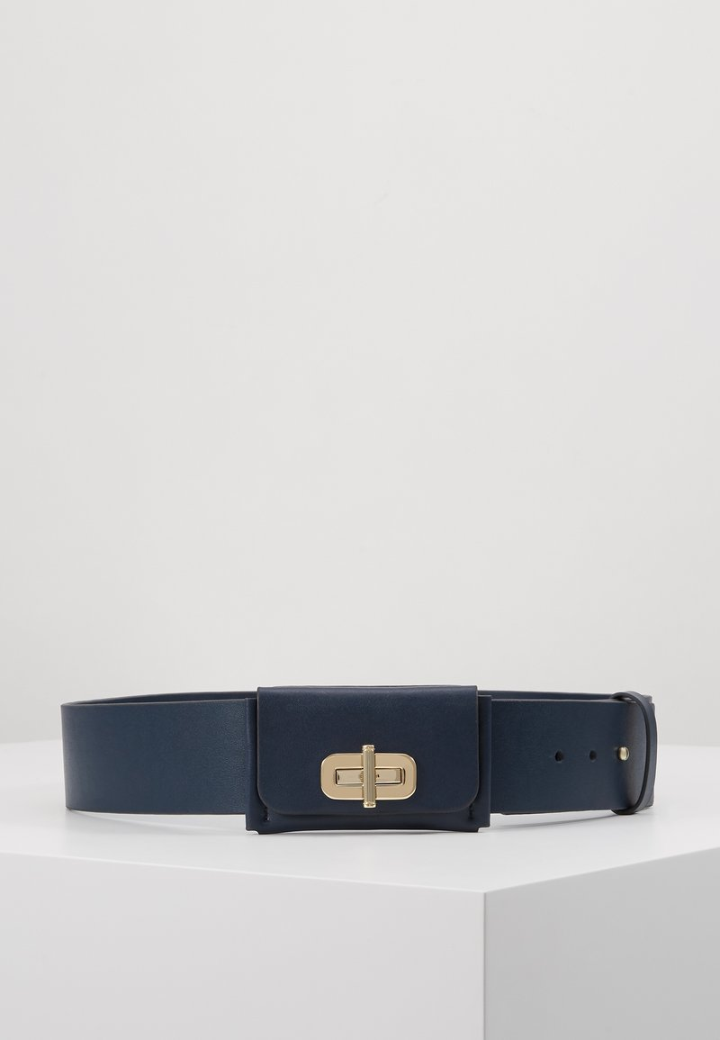 Tommy Hilfiger - TURNLOCK BELT - Pásek - blue