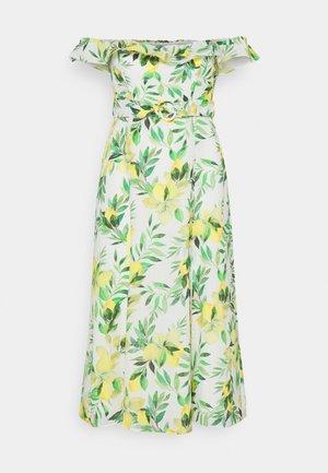 NIKKI BARDOT MIDI DRESS - Day dress - summer lemon