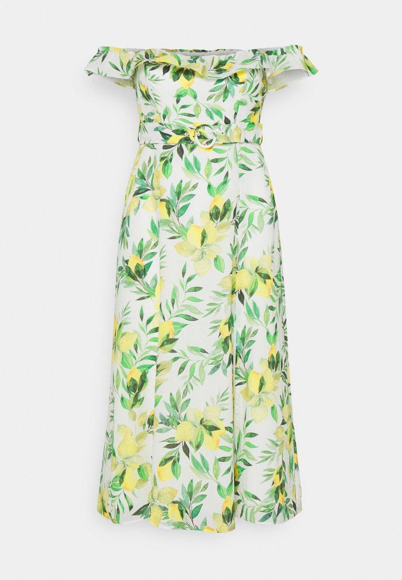 Forever New Petite - NIKKI BARDOT MIDI DRESS - Sukienka letnia - summer lemon