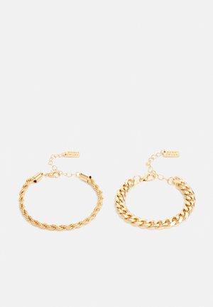 BRACELETT 2 PACK - Bracelet - gold-coloured