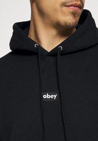 Obey Clothing - BAR - Collegepaita - black - 4
