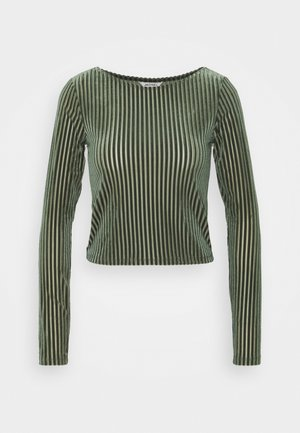 ULLE - Long sleeved top - khaki green