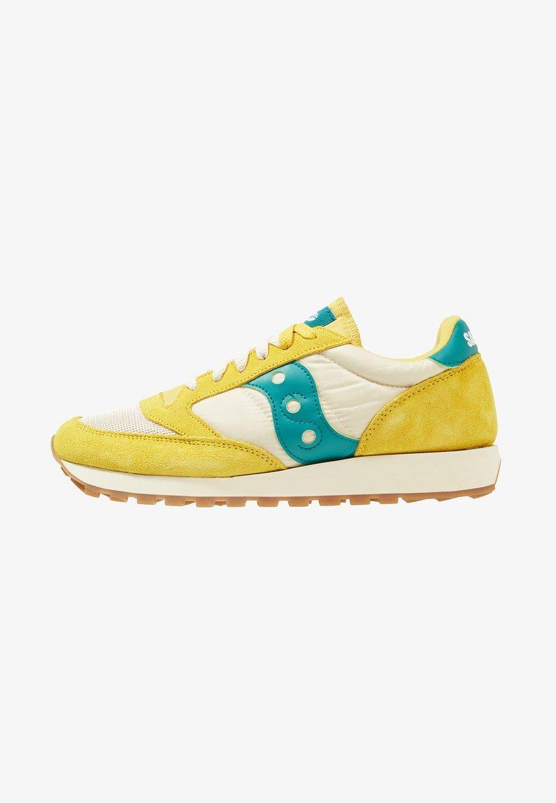 Saucony - JAZZ ORIGINAL VINTAGE - Sneaker low - mustard/tan/teal