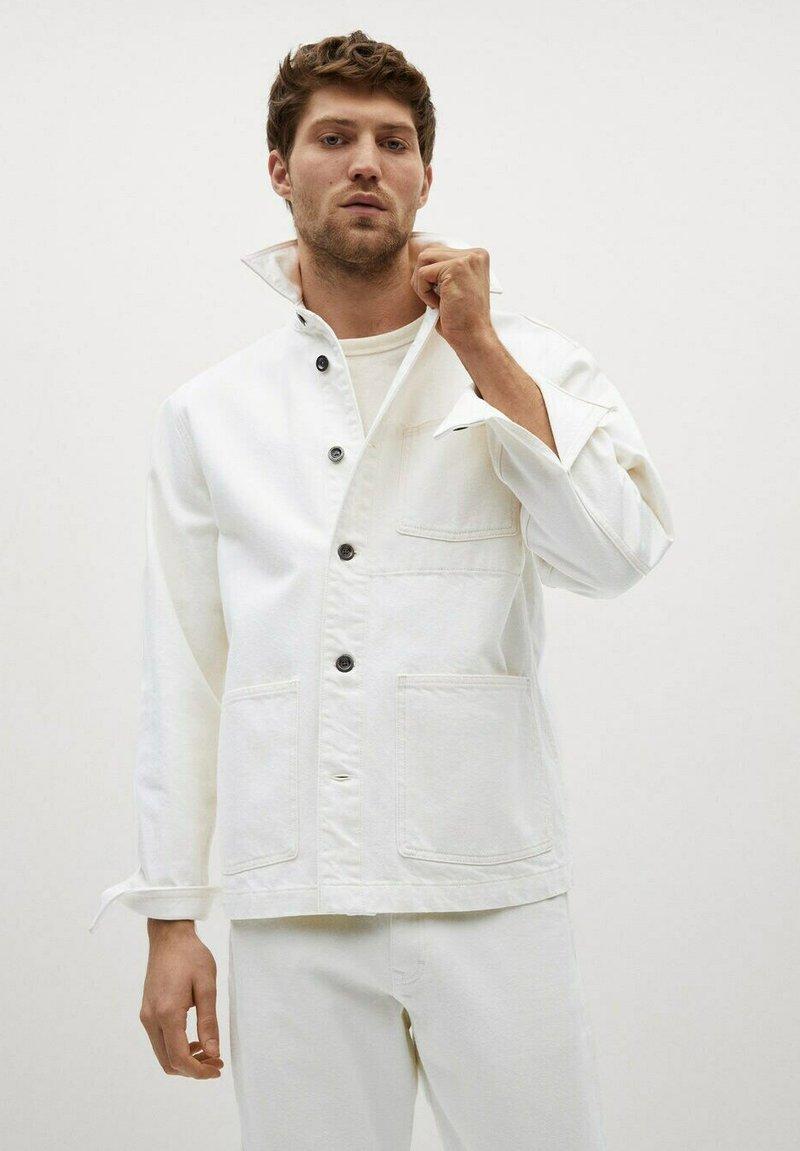 Mango - Giacca di jeans - blanco