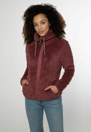 FULL ZIP RIRI - Fleece jacket - petal pink
