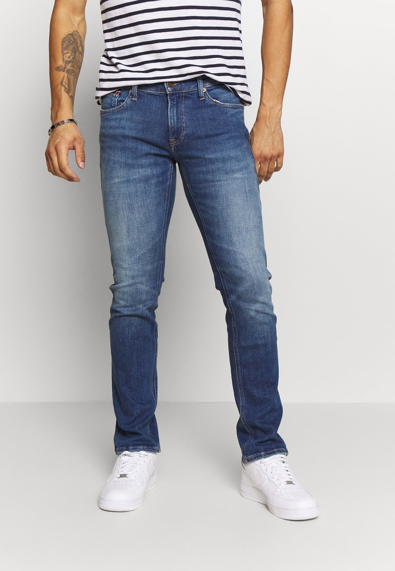 Tommy Jeans - SCANTON - Slim fit jeans - blue denim