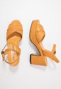 Pons Quintana - High heeled sandals - mostaza - 3