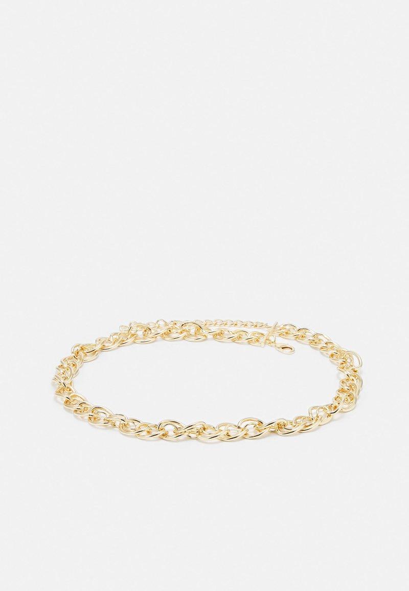 Pieces - PCJUNA CHAIN WAIST BELT - Cintura - gold-coloured
