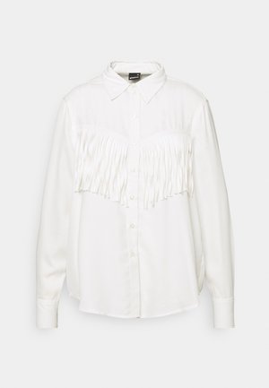 DIANA FRINGE - Button-down blouse - offwhite