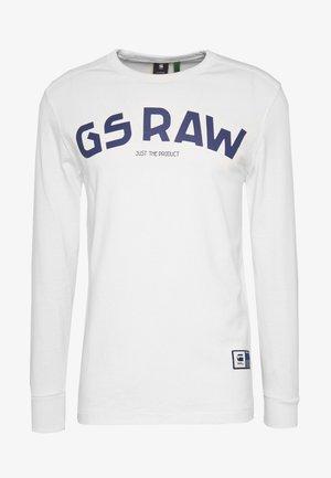 GSRAW GR - Top sdlouhým rukávem - milk