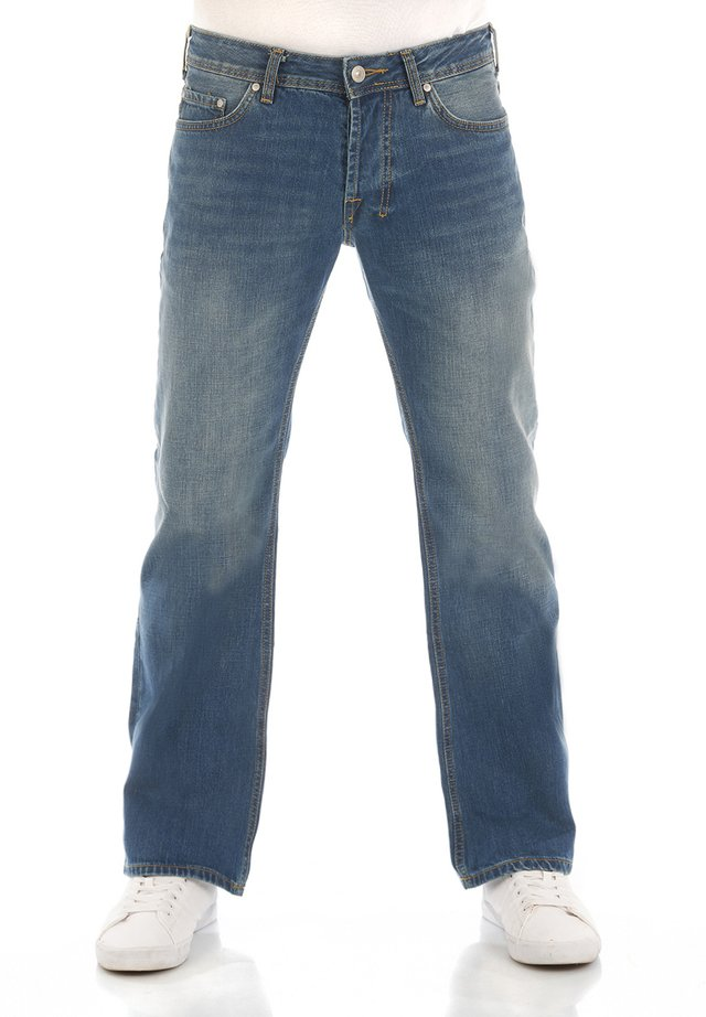 TINMAN - Bootcut jeans - giotto x wash