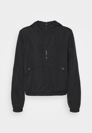 REACH HOOD - Summer jacket - black