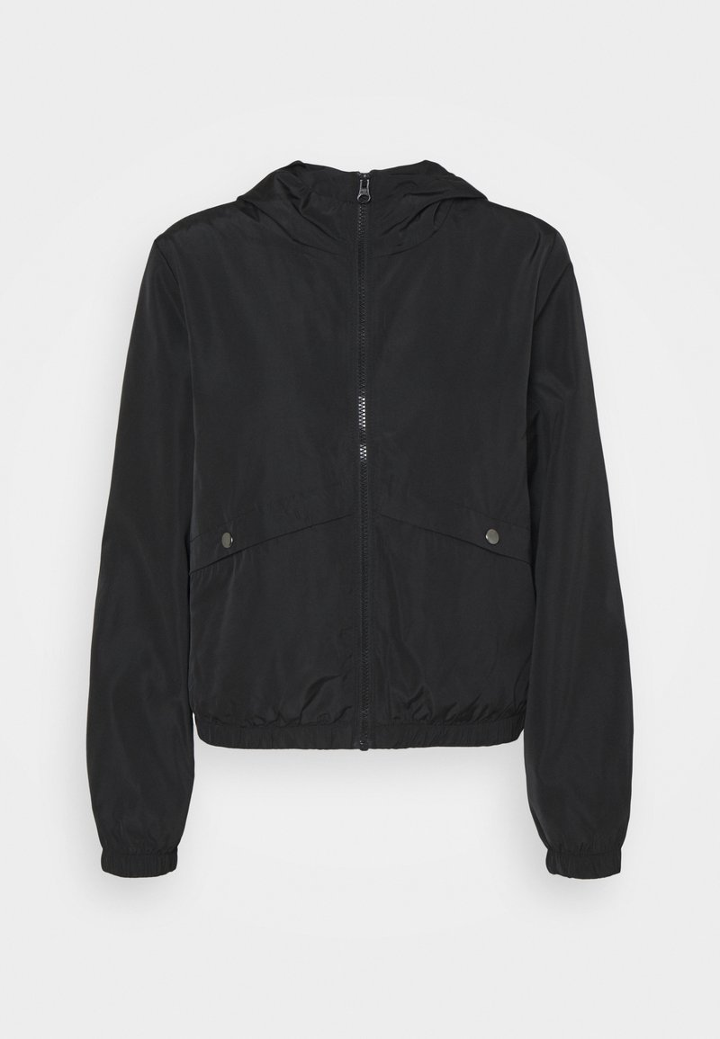 JDY - REACH HOOD - Summer jacket - black