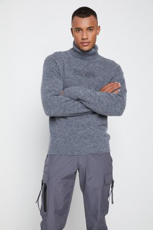 LEWIS HAMILTON UNISEX COZY TURTLE NECK - Jumper - coal