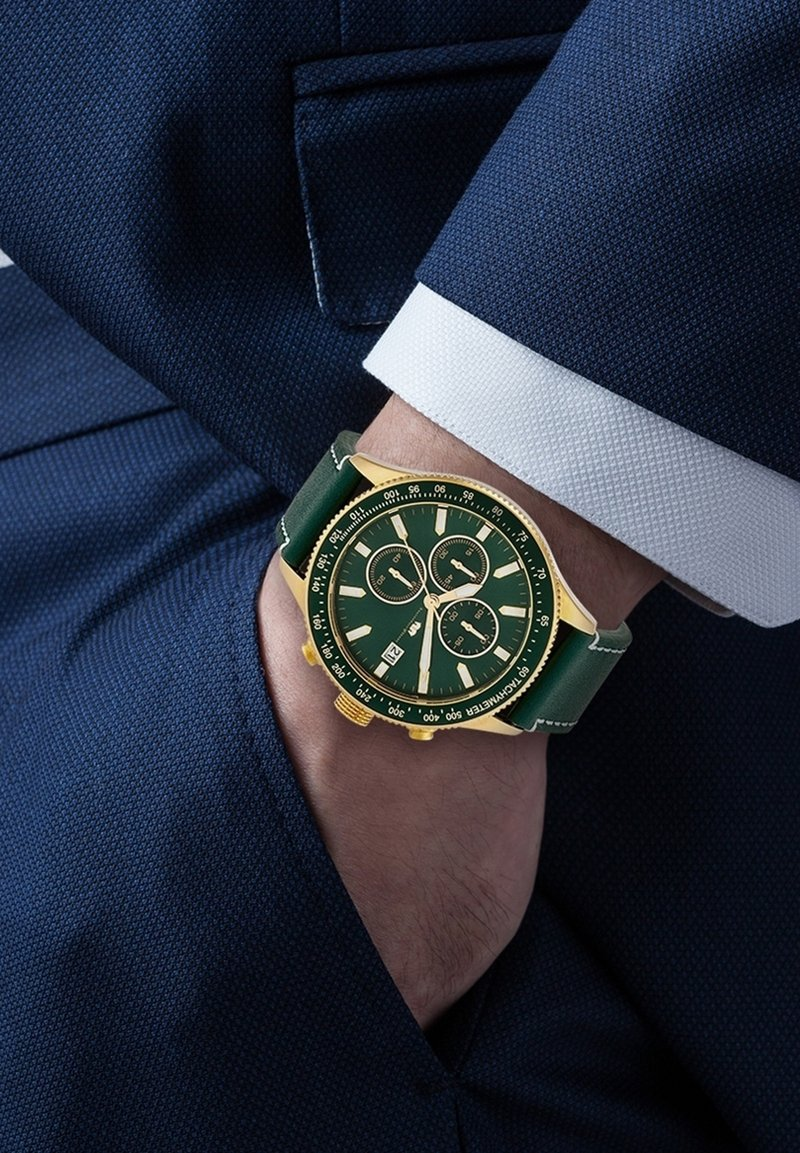 Rhodenwald & Söhne - KARTHAGO II  - Chronograph watch - grün
