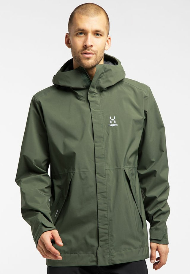 Hardshell jacket - fjell green