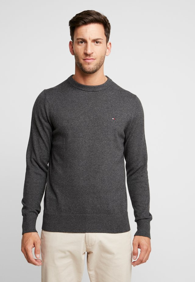 PIMA CREW NECK - Jumper - grey