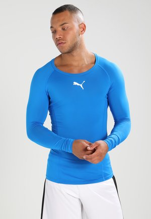LIGA BASELAYER TEE - Undershirt - electric blue lemonade