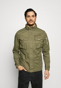 Schott - NIELSEN - Summer jacket - khaki - 0