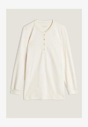 Long sleeved top -  vanilla ivory