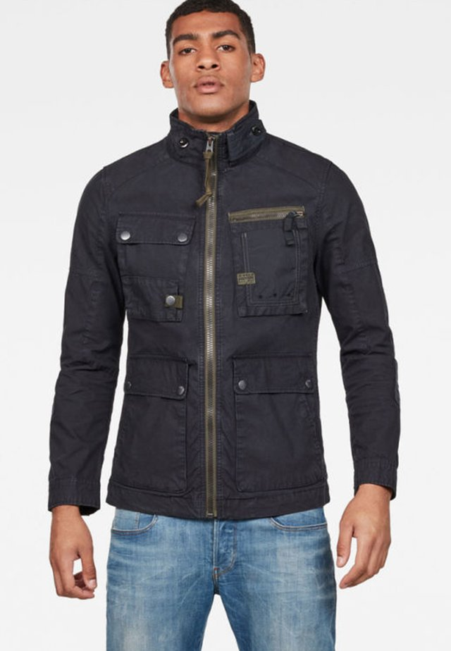 GRIZZER FIELD - Summer jacket - blue