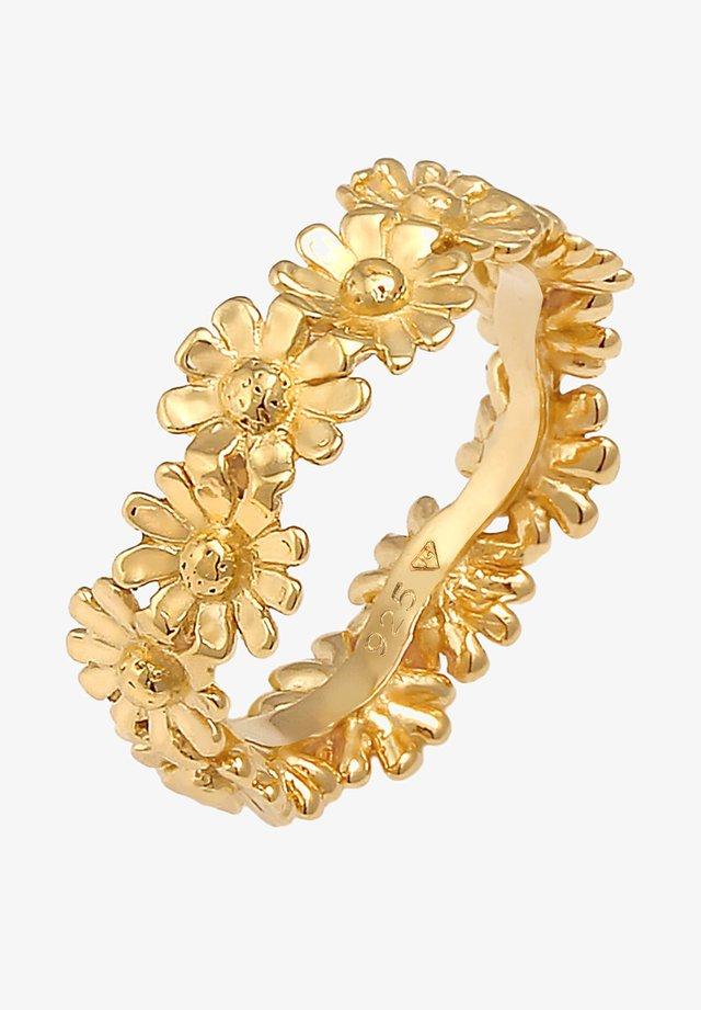 FLOWER - Örhänge - gold