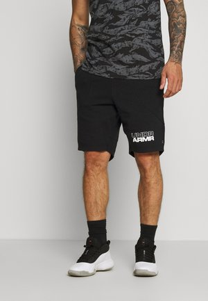 BASELINE SHORT - Sports shorts - black/black/white