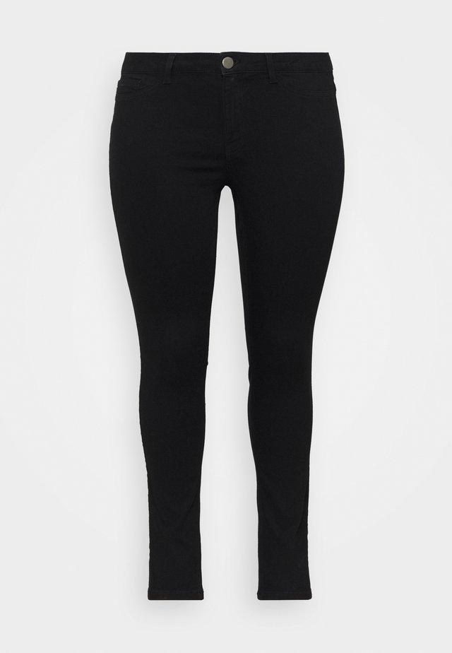 JRFOURQUEENNORA - Slim fit jeans - black