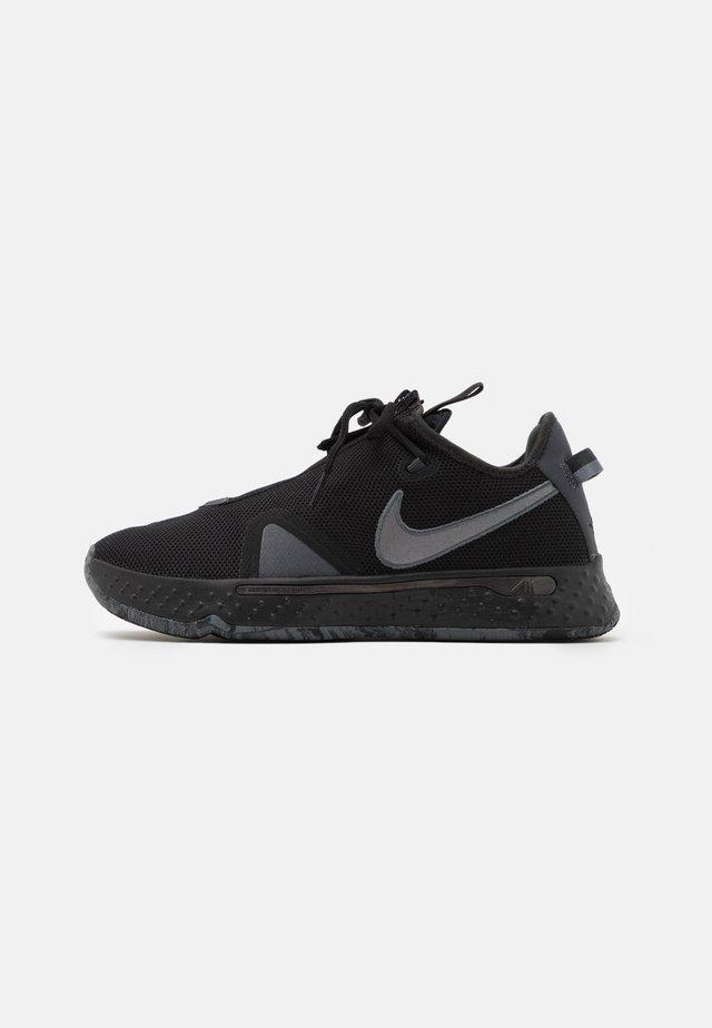 PG 4 - Basketball shoes - black/metallic dark grey/black/cool grey/anthracite