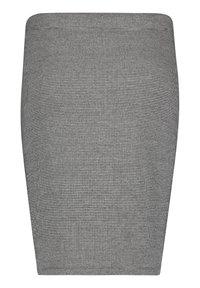 Cartoon - GESCHNITTEN - Pencil skirt - schwarz/grau - 1
