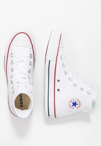Converse - CHUCK TAYLOR ALL STAR HI - Korkeavartiset tennarit - white - 4