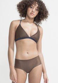 boochen - AMAMI - Bikini top - dark blue - 1