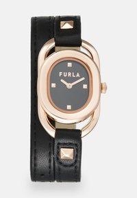Furla - STUDS INDEX - Watch - black/rosegold-coloured - 0