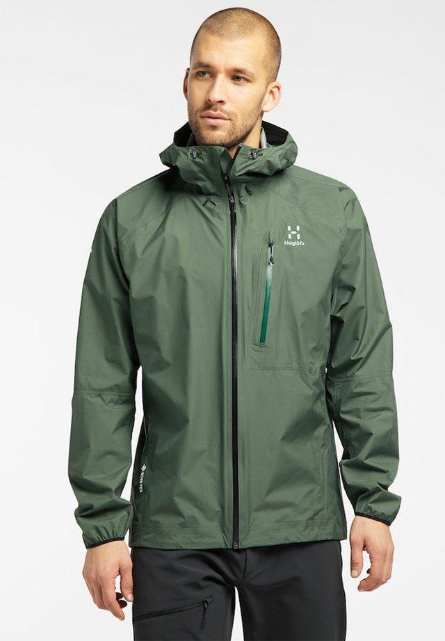 JACKET MEN - Hardshell jacket - fjell green